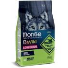 Crocchette per cani Monge all breeds adult low grain cinghiale 12 Kg