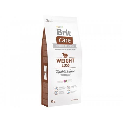 Crocchette per cani Brit care weight loss coniglio e riso 12 Kg
