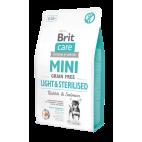 Crocchette per cani Brit care light & sterilised mini 2 Kg