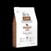 Crocchette per cani Brit care coniglio e patate weight loss 3 Kg