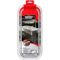 Vaschette in alluminio per barbecue Weber Summit 6498
