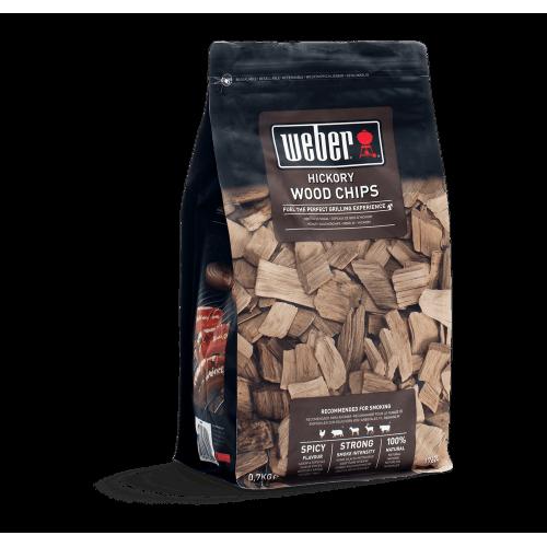Chips legna da affumicatura Weber miscela Hickory 700 g 17624