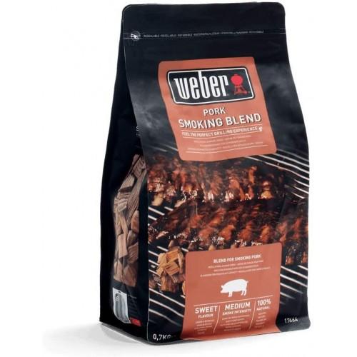 Chips legna da affumicatura Weber miscela carne di maiale 700 g 17664