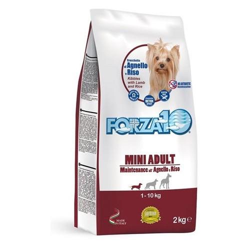 Crocchette per cani Forza 10 mini mantenimento agnello 2 Kg