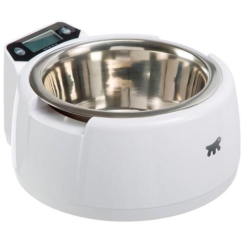 Ciotola per cani con bilancia digitale integrata Ferplast optima