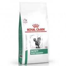 Crocchette per gatti Royal Canin veterinary diet satiety weight management feline 1,5 Kg