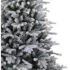 Albero di Natale bianco innevato Kaemingk frosted Vermont spruce 240 cm