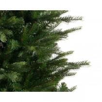 Albero di Natale pino Kaemingk Grandis slim fir verde 240 cm