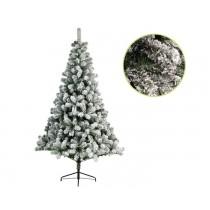 Albero di Natale bianco innevato Kaemingk snowy imperial pine 210 cm