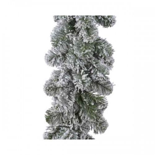 Ghirlanda Natale innevata Kaemingk snowy imperial garland 20 cm