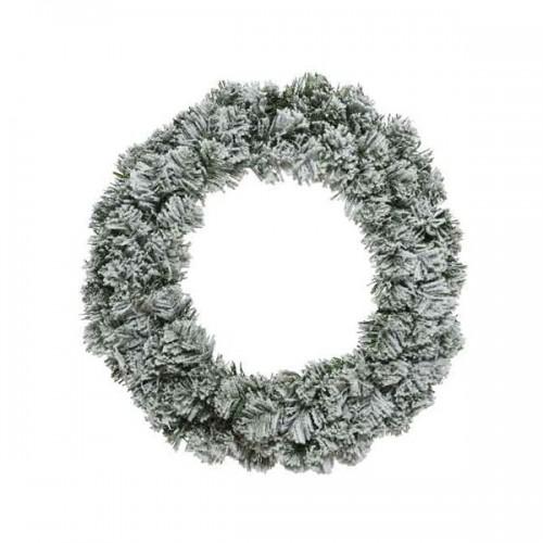 Ghirlanda Natale innevata Kaemingk snowy Imperial wreath 50 cm