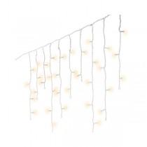 Luci di Natale Kaemingk 490 LED bianco caldo icicle twinkle 20 m