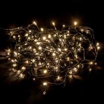 Luci di Natale Kaemingk 200 LED bianco caldo diamond twinkle 20 m