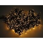Luci di Natale Kaemingk 1000 LED caldo classico compact twinkle 22.5 m