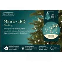 Luci di Natale Kaemingk 832 micro LED bianco caldo tree bunch 2.4 m