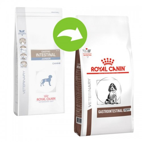 Crocchette per cani Royal Canin Veterinary Diet gastro intestinal junior 2,5 Kg
