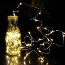 Luci di Natale Kaemingk 40 micro LED bianco caldo string l ind 1.95 m