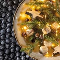 Luci di Natale Kaemingk 20 micro LED bianco caldo string l ind 95 cm