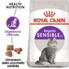 Crocchette per gatti Royal canin sensible 33 400 g