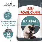 Crocchette per gatti Royal Canin adult feline hairball care 2 Kg