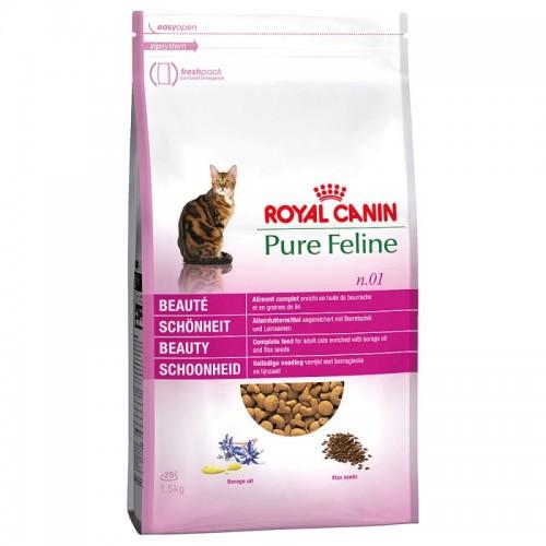 Crocchette per gatti Royal Canin pure feline bellezza beauty 1,5 Kg