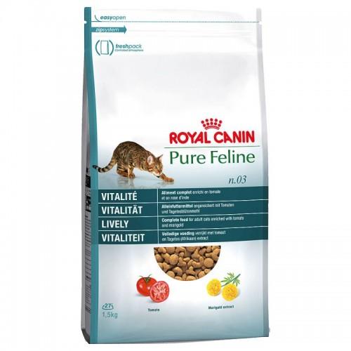 Crocchette per gatti Royal Canin pure feline vitalità lively 300 g