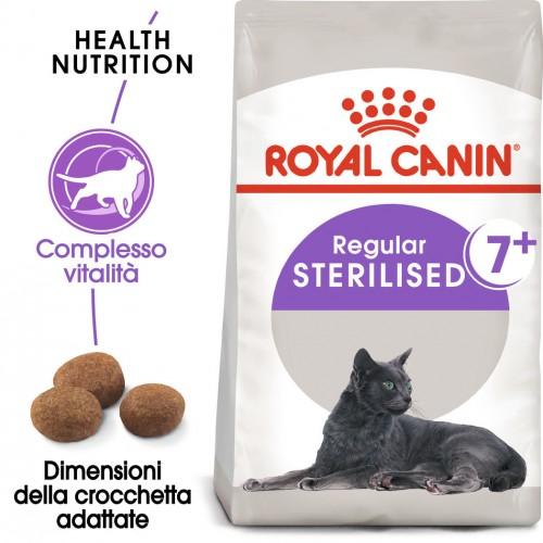 Crocchette per cani Royal Canin sterilised +7 1,5 Kg