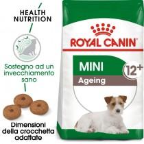 Crocchette per cani Royal Canin mini ageing 12+ 1,5 Kg