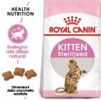 Crocchette per gatti Royal Canin Kitten Sterilised 400 g