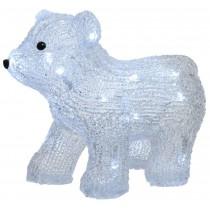 Orso polare a LED Kaemingk colore bianco freddo