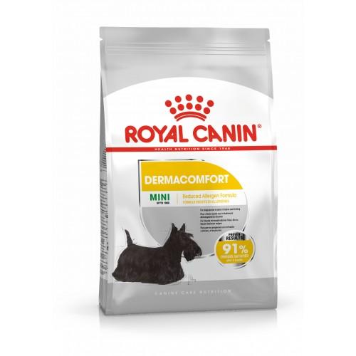 Crocchette per cani Royal Canin mini dermacomfort 1 Kg