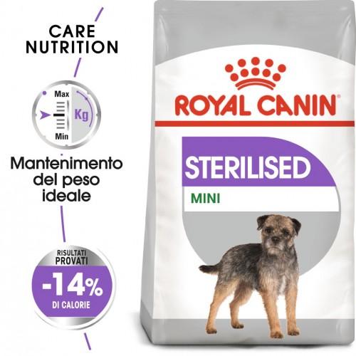 Crocchette per cani Royal Cani mini sterilised 3 Kg