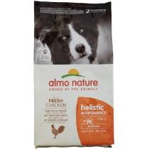 Crocchette per cani Almo nature holistic medium adult con pollo e riso 12 Kg