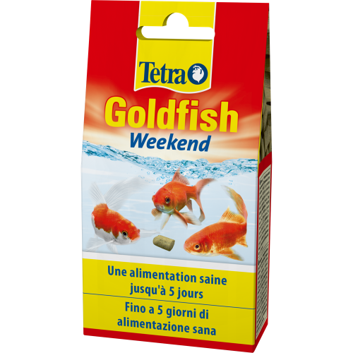 Sticks mangime per pesci rossi Tetra Goldfish Weekend 12 g 40 pz.