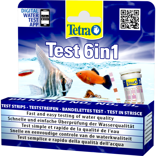 Test acqua acquario Tetra Test 6 in 1