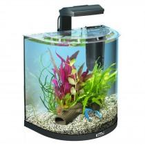 Acquario per pesci rossi curvo Tetra AquaArt LED Explorer Line 30 L nero