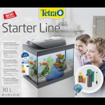 Acquario per pesci rossi Tetra Starter Line LED 30L Goldfish