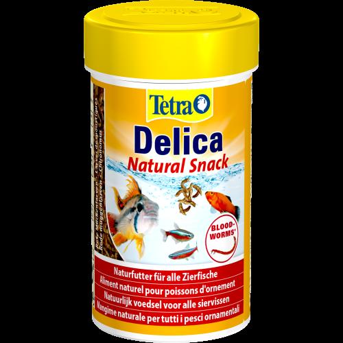 Snack per pesci naturale Tetra Delica Chironomus 100 ml