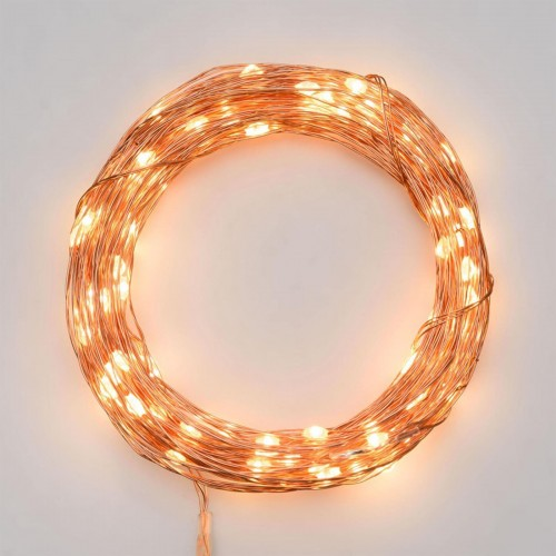 Luci di Natale Lotti 200 micro LED bianco caldo 20 m
