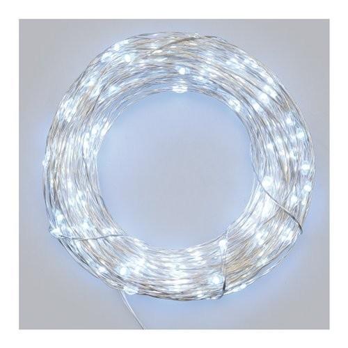 Luci di Natale Lotti 200 micro LED bianco freddo 20 m