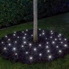 Luci di Natale da esterno Lotti bastoncini giardino luce bianca fredda 24 m