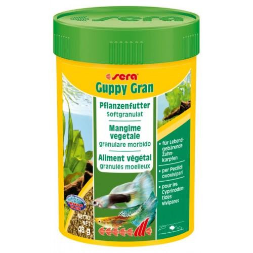 Mangime per pesci in granuli SERA Guppy Gran 100 ml