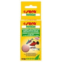 Mangime per pesci vacanze SERA Holiday 10 compresse