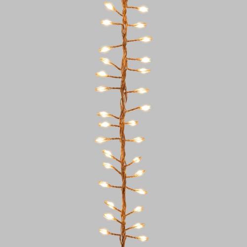 Luci di Natale Lotti 1000 micro LED bianco caldo 10 m