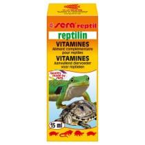 Mangime complementare per rettili SERA Reptilin 15 ml