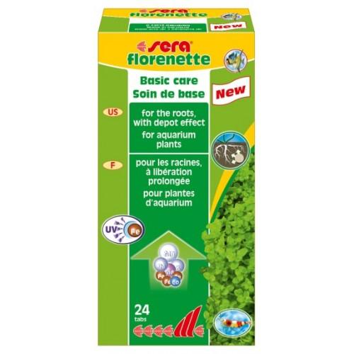 Fertilizzante per piante d'acquario SERA Florenette 24 compresse
