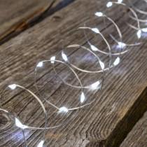 Luci di Natale Lotti 400 micro LED bianco freddo 20 m