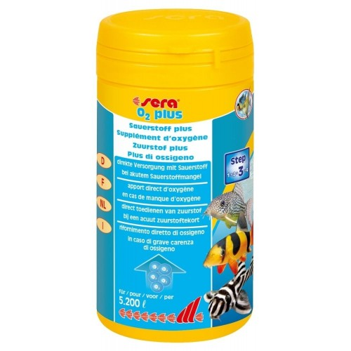 Integratore ossigeno per acquario SERA O2 Plus 260 g