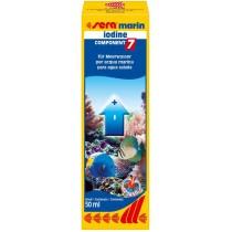 Iodio per acquario marino SERA Marin Component 7 Iodine 50 ml