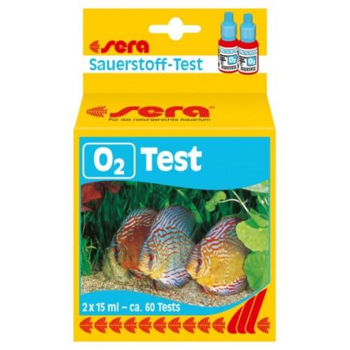 Misuratore ossigeno per acquario SERA O2-Test 15 ml